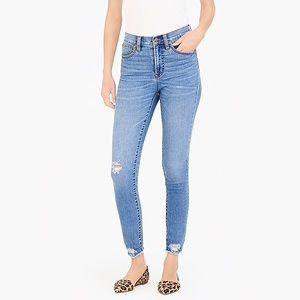 J. Crew Mercantile High Rise Jeans
